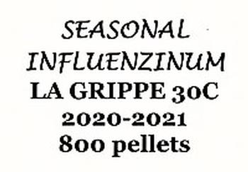Click for details about *Seasonal Influenzinum La Grippe 30C 2020-2021 economy 1 oz 800 pellets
