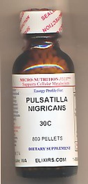 Click for details about Pulsatilla Nigricans 30C  ECONOMY 1 oz 800 pellets 15% SALE