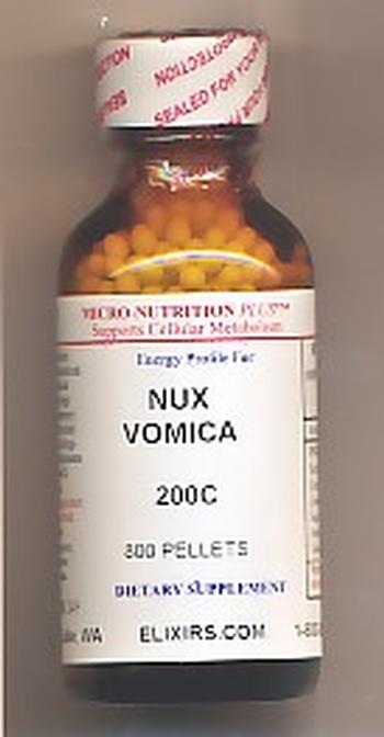Click for details about Nux Vomica 200C economy 1 oz with 680 pellets
