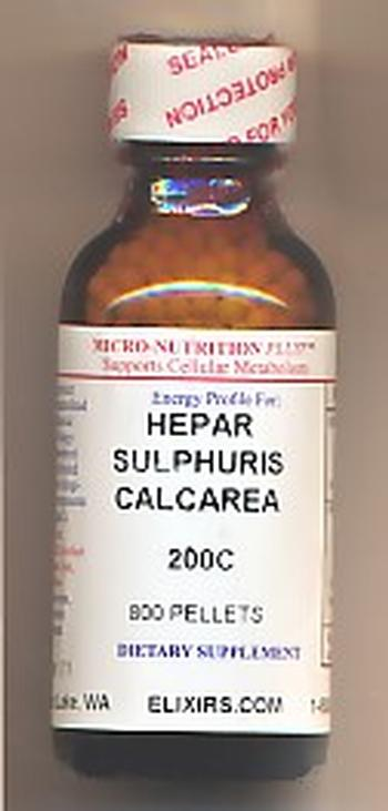 Click for details about Hepar Sulphur 200C economy 1 oz 800 pellets