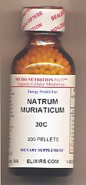 Click for details about Natrum Mur 30C ECONOMY 1 oz 800 pellets 10% SALE