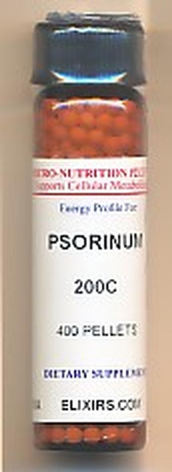 Click for details about Psorinum 200C 400 pellets
