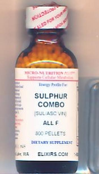 Click for details about Sulphur Combo pain relief potency blend economy 1 oz 800 pellets