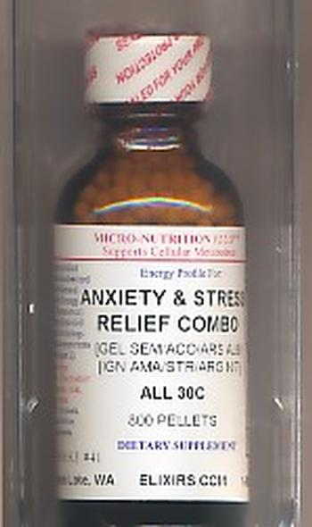Click for details about Anxiety Stress Relief Combo 30C economy 1 oz 800 pellets 10% OFF SALE