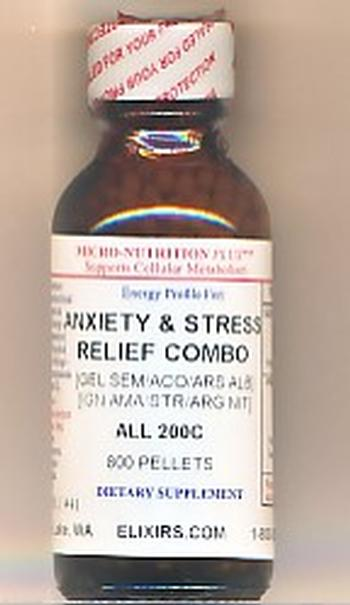 Click for details about Anxiety Stress Relief Combo 200C economy 1 oz 800 pellets
