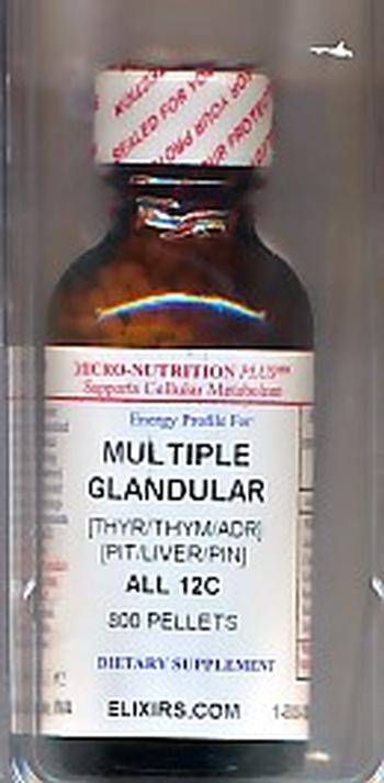 Click for details about Multiple Glandular with Liver 12C economy 800 pellets