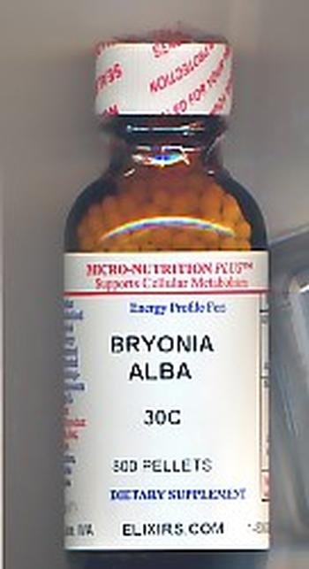 Click for details about Bryonia 30C economy 1 oz 800 pellets
