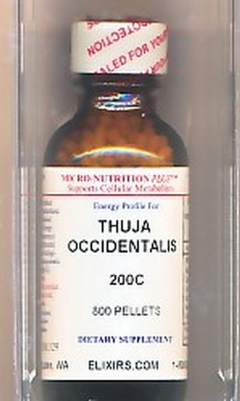 Click for details about Thuja  200C economy 1 oz with 800 pellets