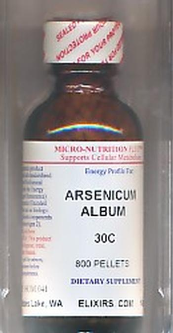 Click for details about Arsenicum Album 30C economy 1 oz 800 pellets