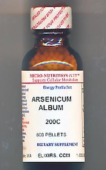 Click for details about Arsenicum Album 200C economy 1 oz pellets