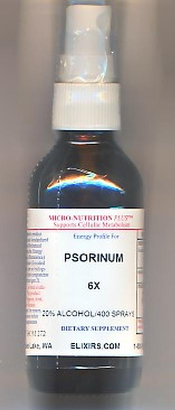 Click for details about Psorinum 6X LARGE 60cc 2 fluid oz spray top