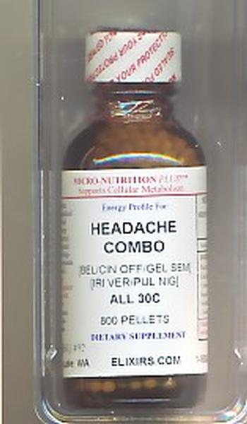 Click for details about Headache Combo 30C NEW economy 1 oz 800 pellets Intro Offer
