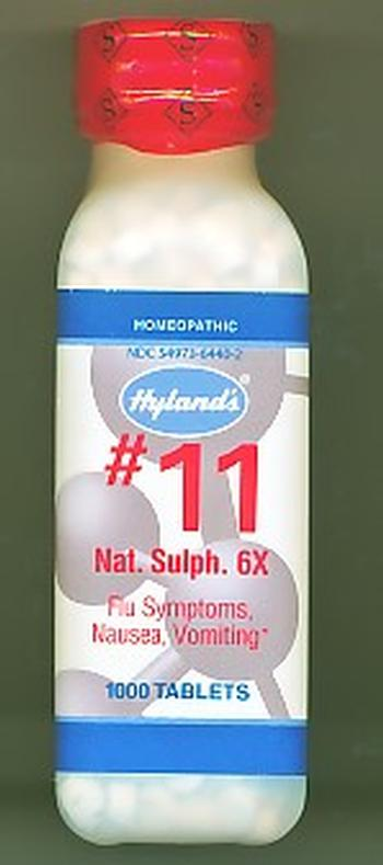 Click for details about Natrum Sulphur #11  6X  1000 tablets 20% off SALE!