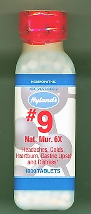 Click for details about Natrum Mur 6X 1000 tablets #9 CELL SALT 20% SALE