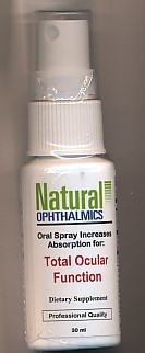 Click for details about Total Ocular Function 1 oz spray