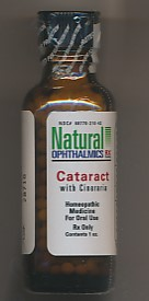 Click for details about Cataract Eye 1 oz PELLETS with Cineraria