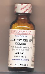 Click for details about Allergy Relief Combo 30C economy 800 pellets