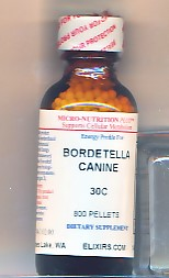 Click for details about Bordetella Kennel Cough for dogs 30C 800 pellets