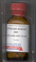 Click for details about Nitricum Acidum 30C ECONOMY 800 pellets